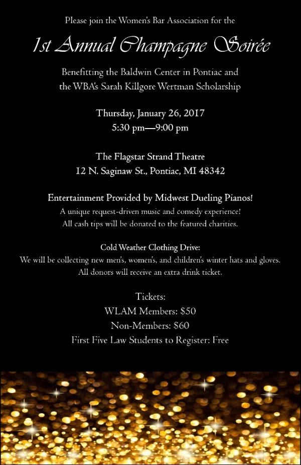 1st Annual Champagne Soirée @ The Flagstar Strand Theatre   Pontiac   Michigan   United States